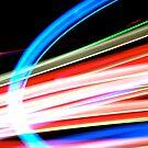 Neon Rainbow by Jason Dymock Photography
