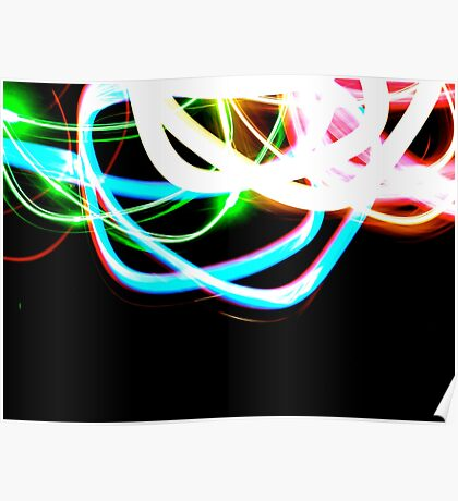 Tangled Light Poster