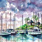 Harbor @ Sunset by mleboeuf