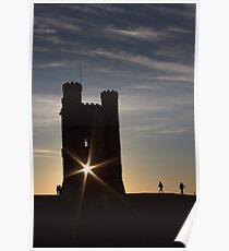 sun sky silhouette's  Poster