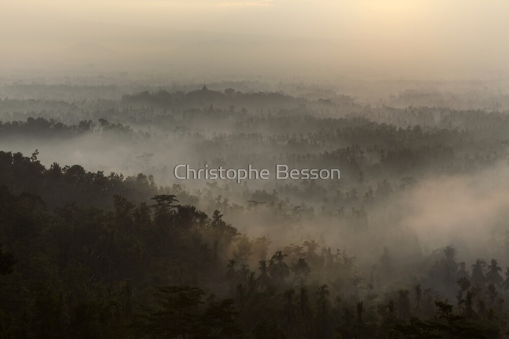 Borobudur by Christophe Besson