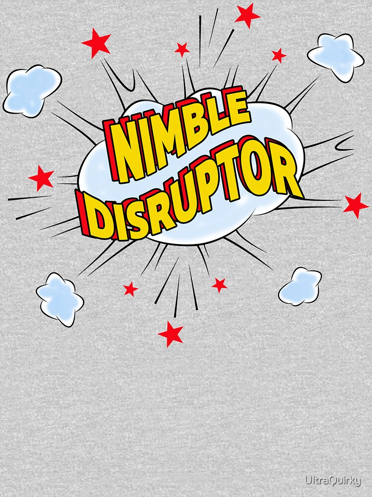 Nimble Disruptor. by UltraQuirky