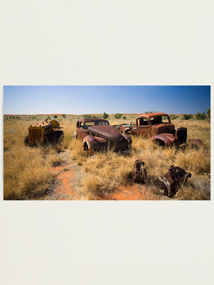 Alternate view of Old Vehicles Wrecks Photographic Print