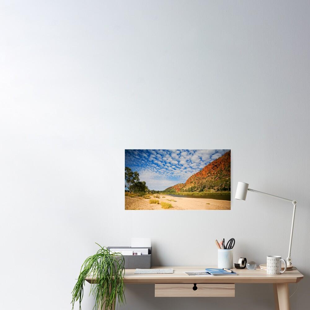Glen Helen Escarpment Poster