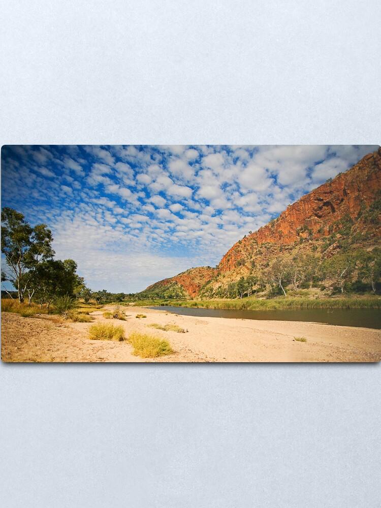 Alternate view of Glen Helen Escarpment Metal Print