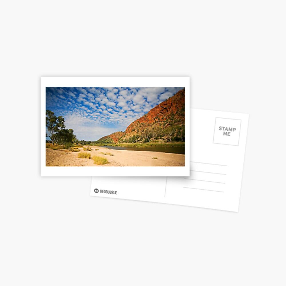 Glen Helen Escarpment Postcard