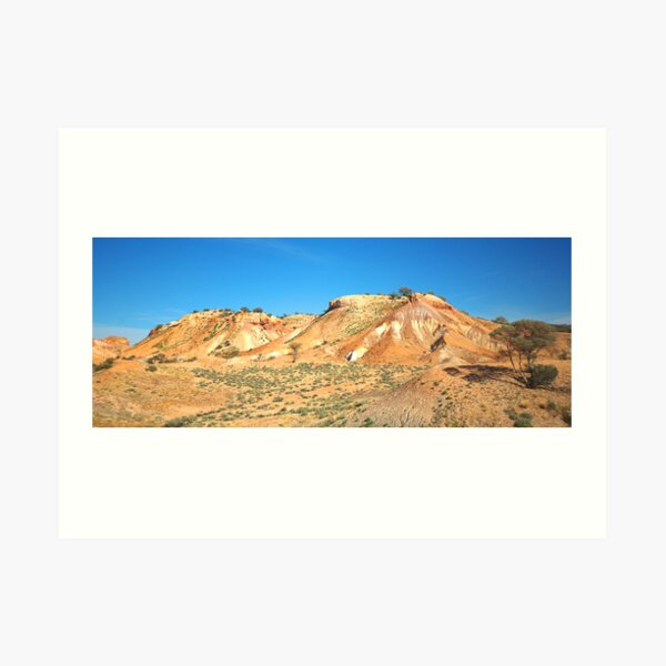Painted Desert Hills Art Print