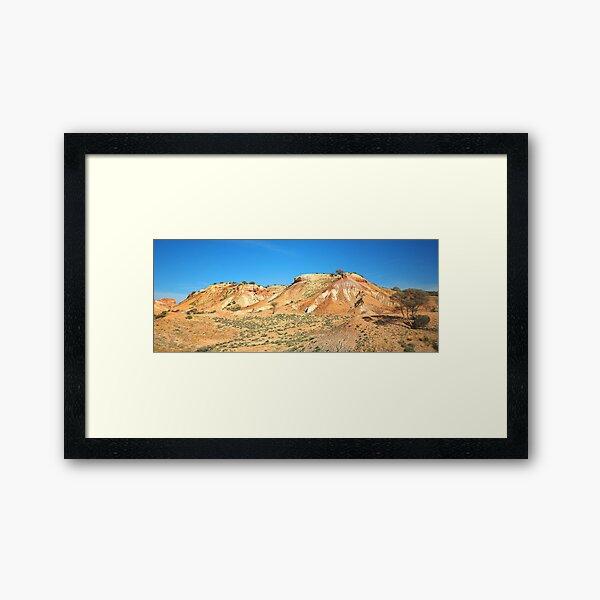 Painted Desert Hills Framed Art Print