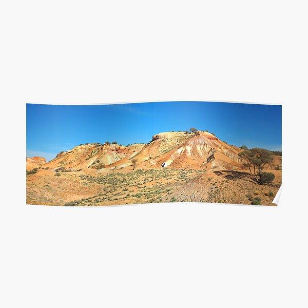 Painted Desert Hills Poster