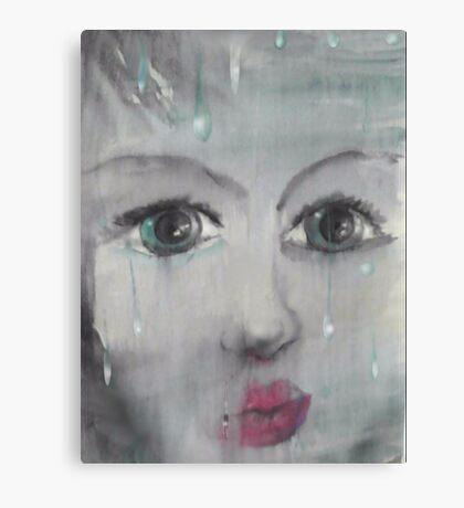 Behind glass Canvas Print
