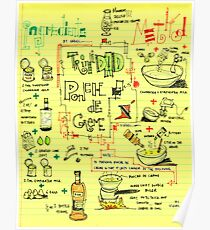 Visual Recipe - Ponche de Creme Poster