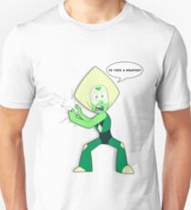 """Is """"This"""" a Weapon? (Peridot) Unisex T-Shirt"""
