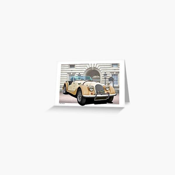 Classic Morgan Roadster Greeting Card