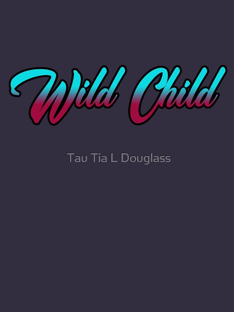 Retro Wild Child Design by PurplePeacock