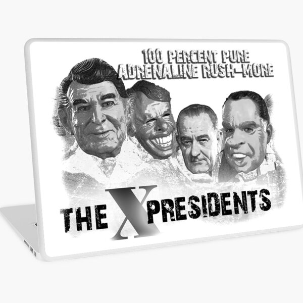 The X - Presidents 100% Pure Adrenaline Rush-More Laptop Skin
