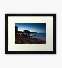 Bognor Regis Pier sunrise fuller frame Framed Print
