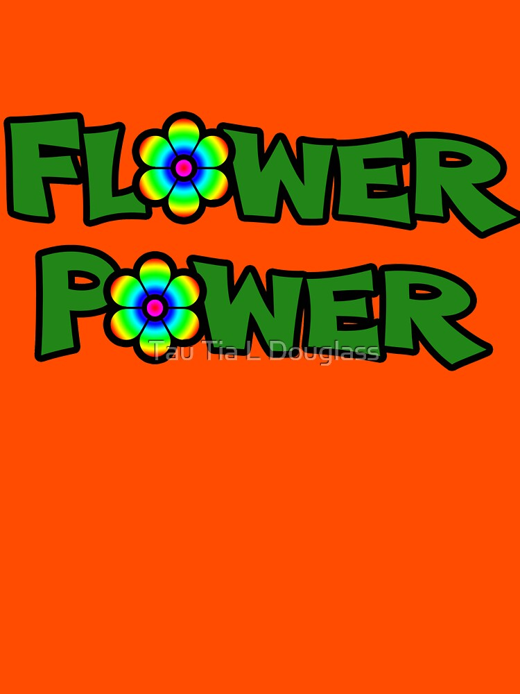 Flower Power Text Design by PurplePeacock