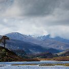 Loch in Glen Strathfarrar by kernuak