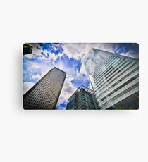 Canary Wharf And It's Competiton Metal Print