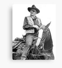 John Wayne as Rooster Cogburn Metal Print
