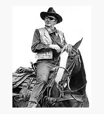 John Wayne as Rooster Cogburn Photographic Print
