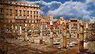 Basilica Ulpia ruins. Rome. by terezadelpilar ~ art & architecture