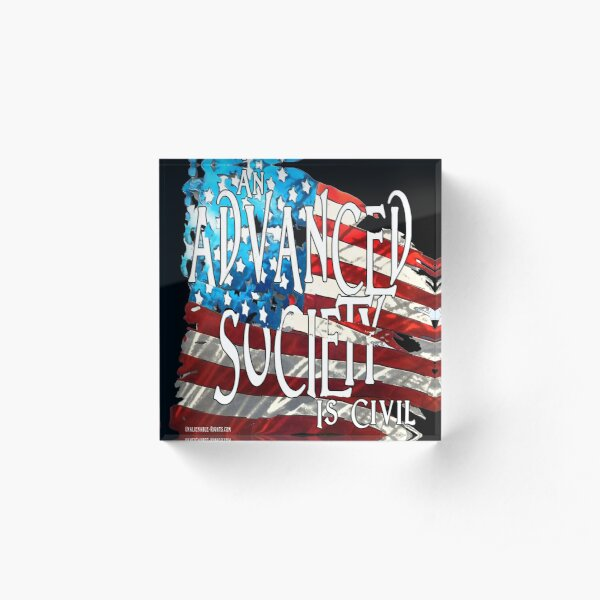 Advanced Society Acrylic Block