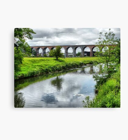 Whalley Viaduct. Canvas Print
