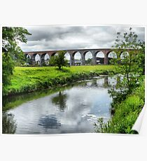 Whalley Viaduct. Poster
