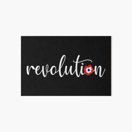 Revolution - French Flag Pin Art Board Print