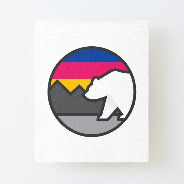 Polar Bear Canvas Mounted Print