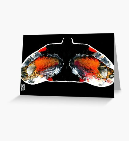A pair of wings just for you... Greeting Card