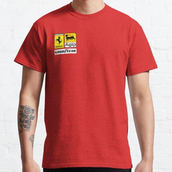 Ferrari 1980-1990 F1 Camiseta clásica