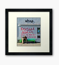 Text Message  Framed Print