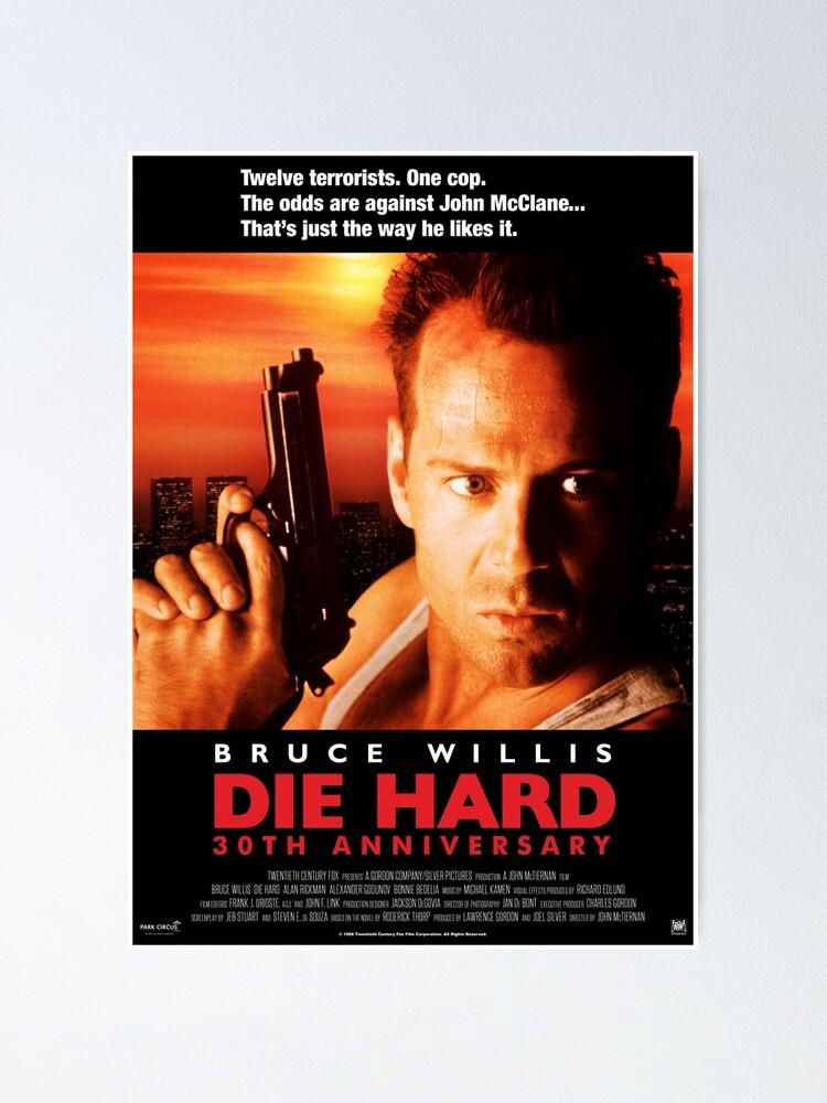 Die Hard Poster Bruce Willis