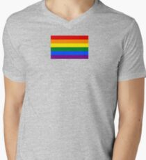 Rainbow Flag Gifts & Products V-Neck T-Shirt