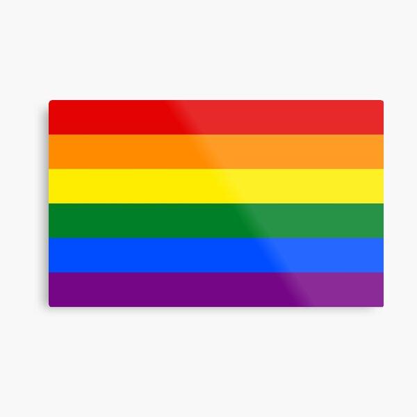Regalos y productos de Rainbow Flag Lámina metálica