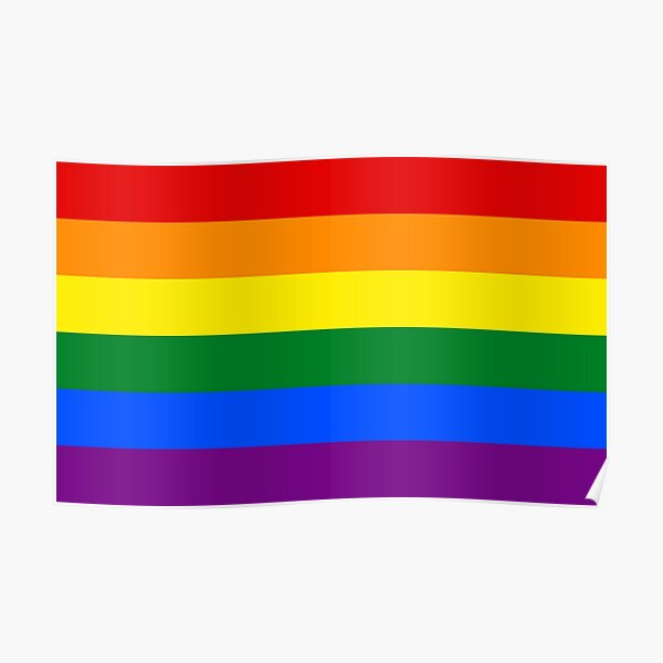 Rainbow Flag Gifts & Products Poster