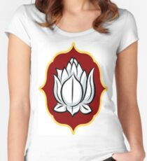 Buddhism Women's Fitted Scoop T-Shirt