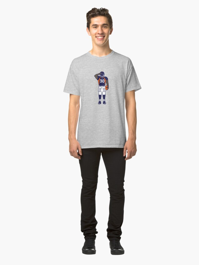 Alternate view of Mile High Salute (Full Color) Classic T-Shirt