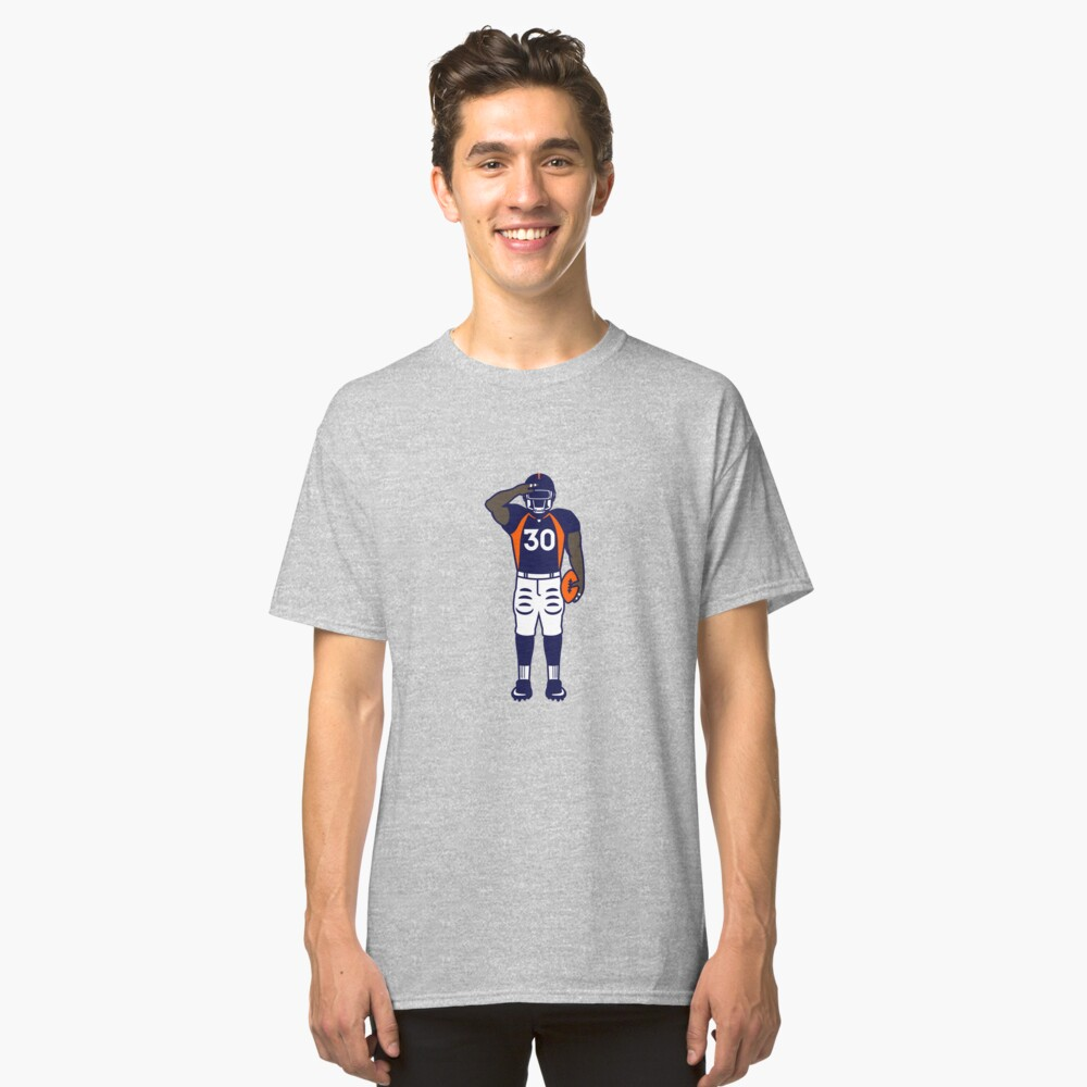 Mile High Salute (Full Color) Classic T-Shirt