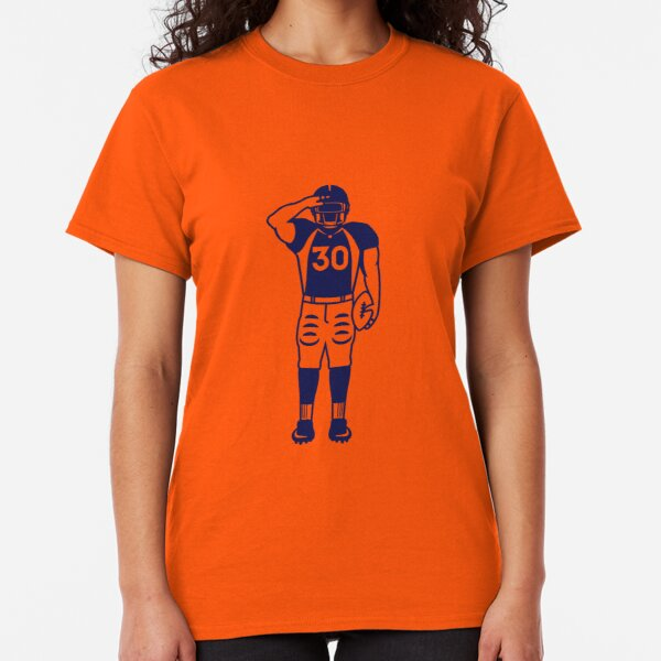 Copy of Mile High Salute (Solid Blue) Classic T-Shirt