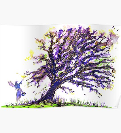 Fairy Dust Tree Poster