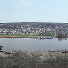 Cincinnati's Ohio River by iagomega