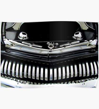 1951 Modified Mercury Coupe Front Grill Poster