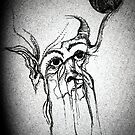 """""""Old Crone"""" by Lorraine  Dowler"""