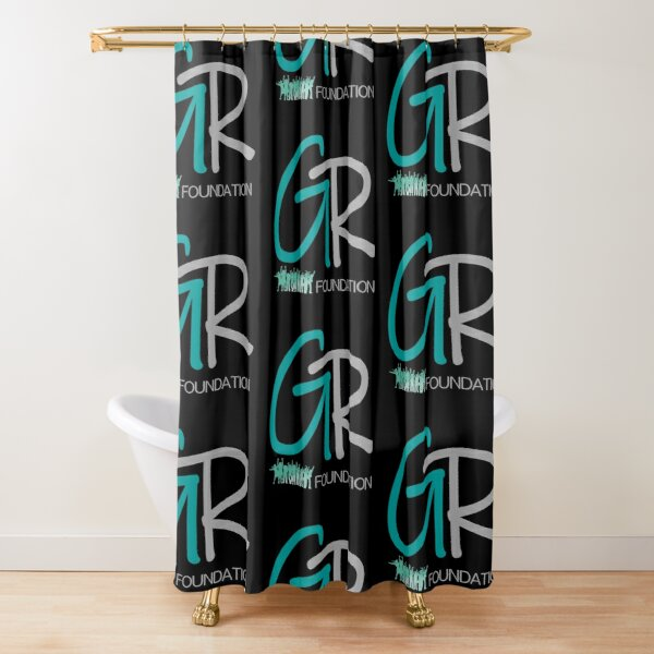 Glorious Recovery Logo Shower Curtain