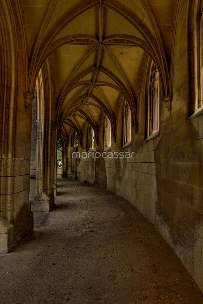 Gothic pathway 2 by Bokeh  Photography