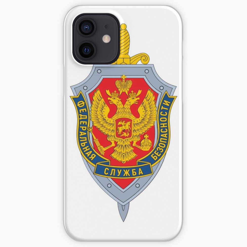 Emblem of the Russian Federal Security Service iPhone Case & Cover