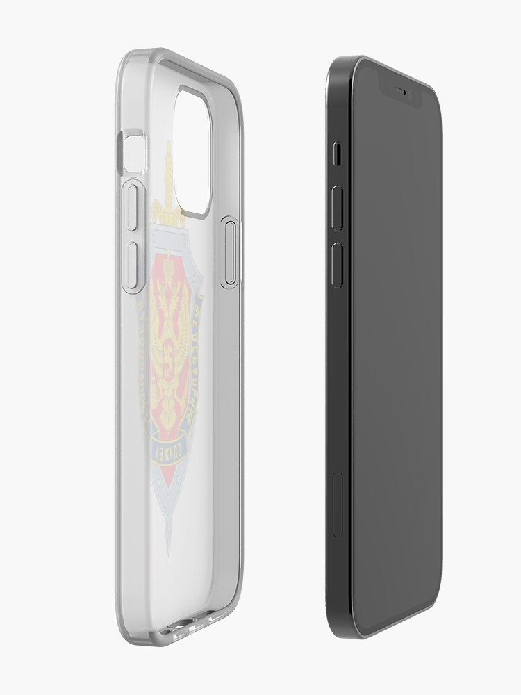 Alternate view of Emblem of the Russian Federal Security Service iPhone Case & Cover